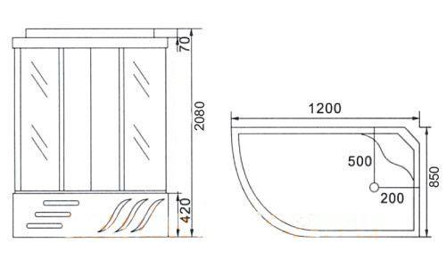 Фото - Тонкощі установки душових піддонів