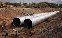 Використання труб дуже великого діаметра