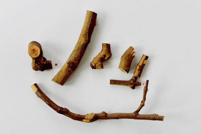 Деревяні деталі для гарбуза