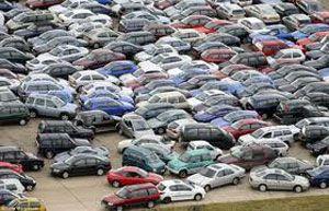 Фото - Уфа слабо забезпечена паркувальними місцями