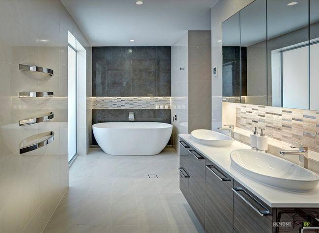 Фото - Затишна ванна без унітаза: світло, колір і форма ...