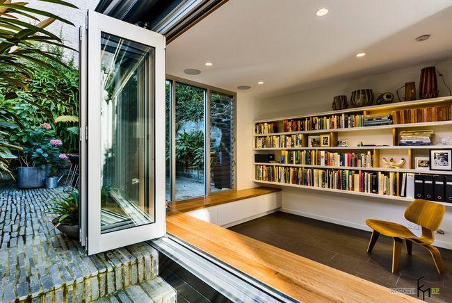 Кімната - бібліотека