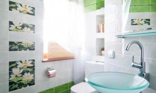 Кахельна плитка в туалеті