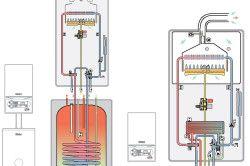 Схема настінного газового котла