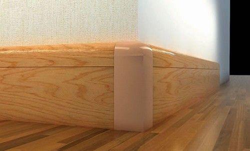 Фото - Установка підлогового плінтуса своїми руками