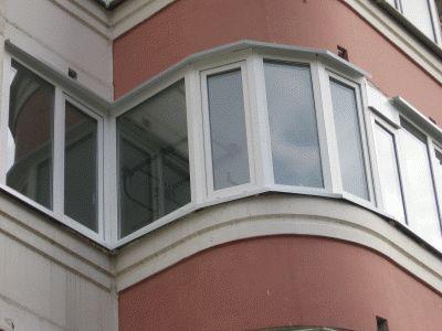 Фото - Установка відливу на балкон