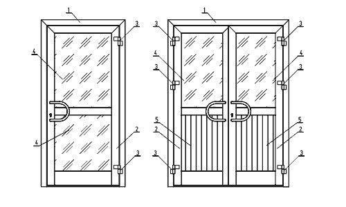 Фото - Нюанси пристрою пластикових дверей