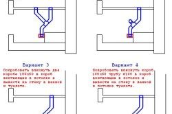 Варіанти монтажу вентиляції у ванній