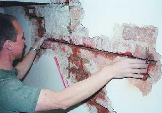 Фото - Усунення дефектів цегляної кладки стін