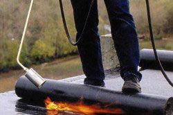 Якщо протікає дах з руберойду, то необхідно просто поставити латочку на проблемне місце.