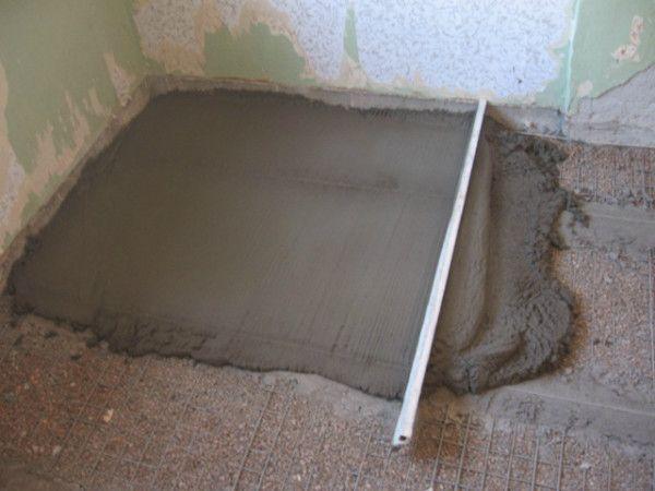 Фото - Пристрій бетонної підготовки підлоги