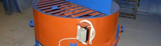 Фото - Пристрій бетономішалки примусової дії