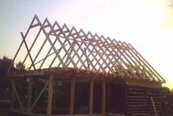 як побудувати двосхилий дах
