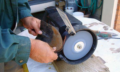 Фото - Пристрій саморобного наждака з електродвигуна