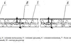 Шнек для транспортування цементу