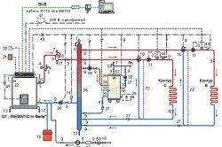 Фото - Пристрій системи опалення на твердопаливному котлі