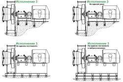 Димотяги і тягодуттьові машини варіанти конструктивного виконання 3