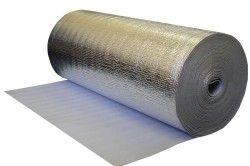 Фольгированная поліетиленова плівка необхідна для гідроізоляції при утепленні балкона.