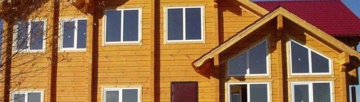 Фото - Утеплення дерев'яного будинку зовні пінополістиролом
