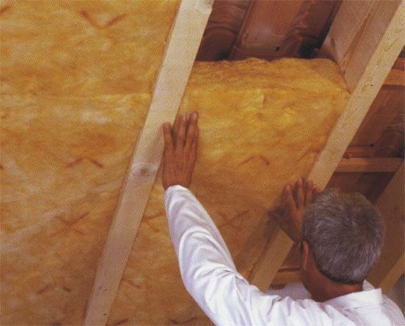 Фото - Утеплення стелі в одноповерховій будівлі