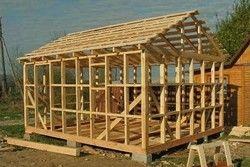 технологія будівництва каркасної лазні