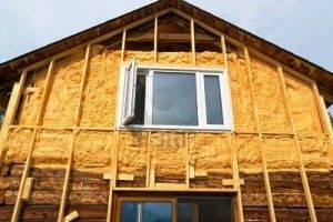 Фото - Утеплення стін дерев'яного будинку мінеральною ватою
