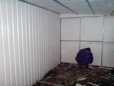 Фото - Утеплення стін гаража