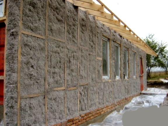 Фото - Утеплення стін і даху гаража