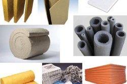 Для утеплення стін лазні використовуються утеплювачі з базальтових супертонких волокон. Вони витримують дуже високі температури і не втрачають своїх властивостей.