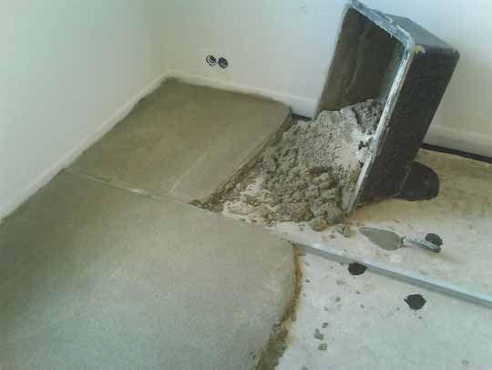 Фото - Збільшення товщини стяжки підлоги