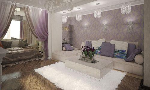 Фото - У яких стилях можна виконати інтер'єр спальні і вітальні