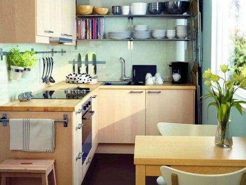 дизайн невеликої кухні фото