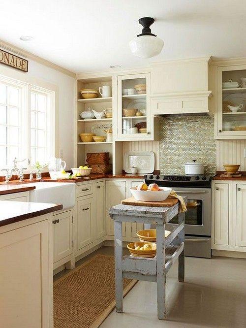 дизайн для маленької кухні фото
