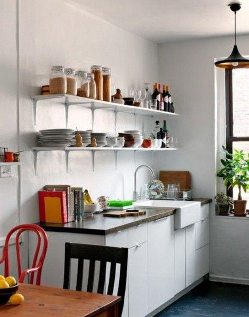 маленька кухня вітальня дизайн фото