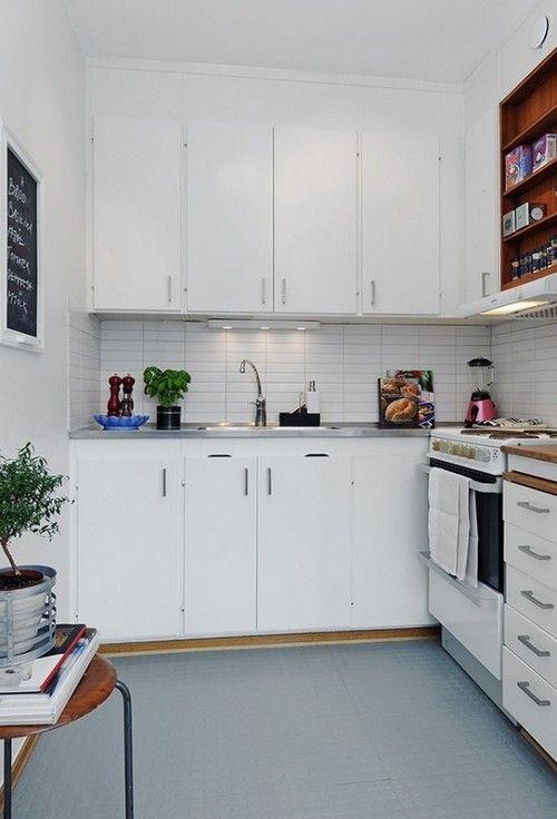 дизайн дуже маленької кухні фото