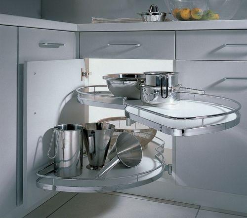 Ідеї   зберігання начиння в невеликій кухні