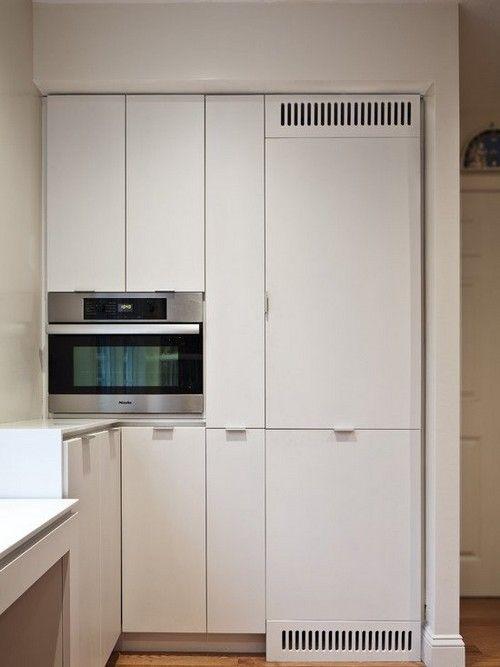 Вбудований холодильник для маленької кухні