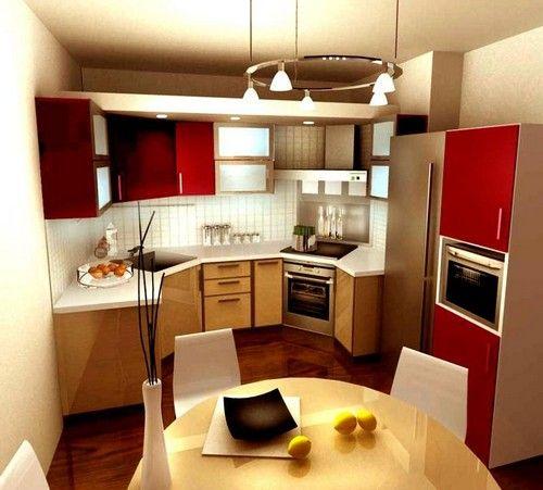 дизайн кухні маленького розміру фото