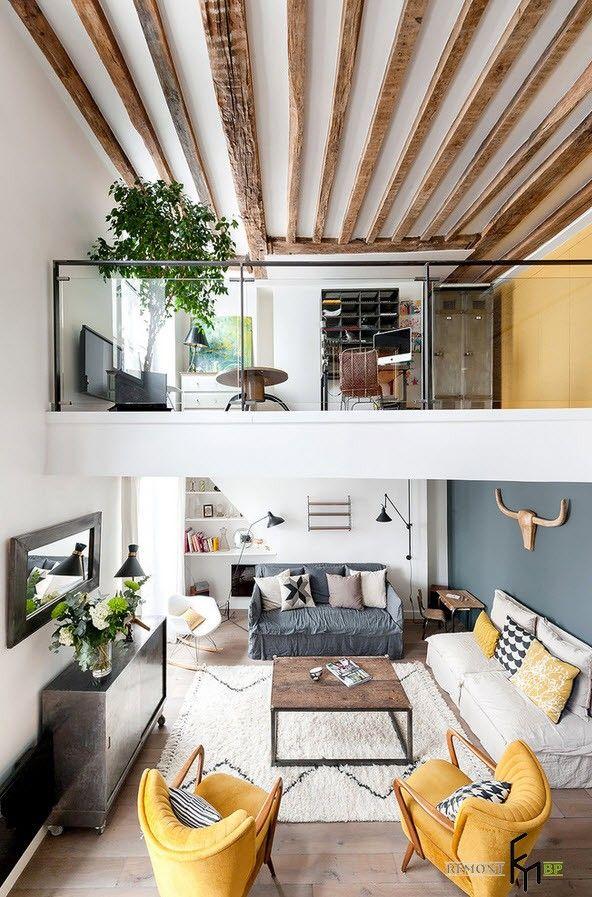 Фото - У зоні видимості: лофт-дизайн дворівневої квартири-студії