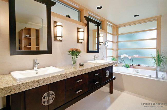 Фото - Ванна кімната: японський аспект східного стилю