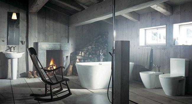 Фото - Ванна на мансарді: особливості планування, ідеї облаштування та оригінального дизайну
