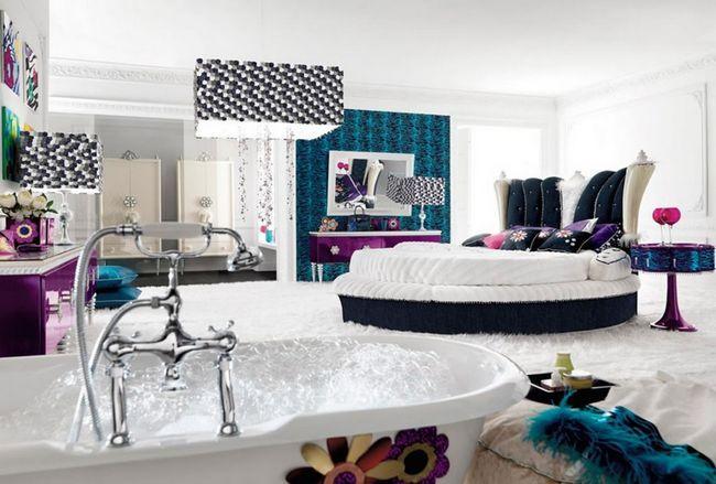 Фото - Ванна в спальні: вам таке і не снилося