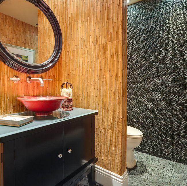 Фото - Варіанти дизайну стін у ванній кімнаті