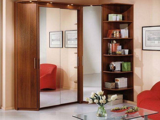 Фото - Кутова меблі для вітальні: фото і опис