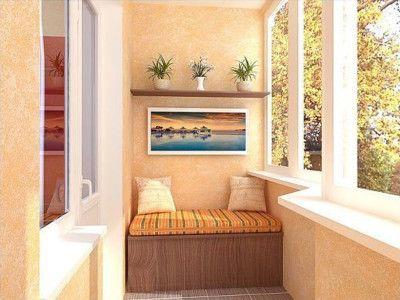 Фото - Варіанти обробки балкона