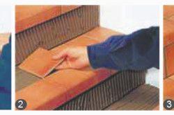 Етапи монтажних робіт керамічною плиткою
