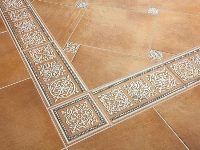 Обробка підлоги плиткою