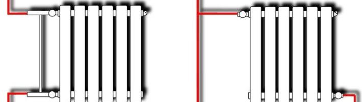 Фото - Варіанти підключення радіаторів опалення