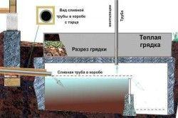 Схема пристрою накопичувального септика