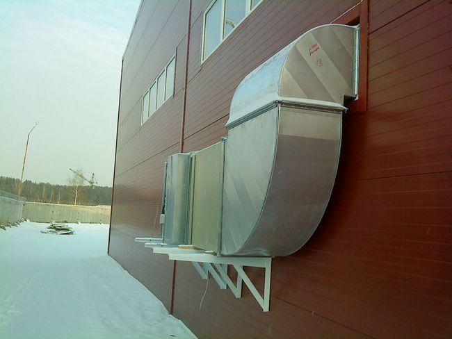 Вентиляція в виробничих приміщеннях